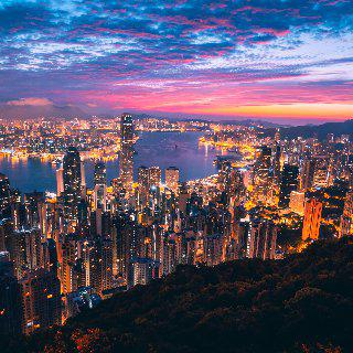 인공지능 추천 여행지 : 홍콩 이미지
