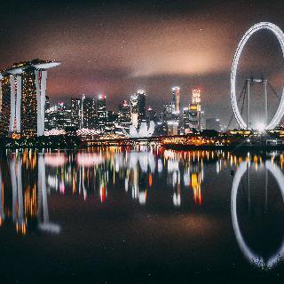 인공지능 추천 여행지 : 싱가포르 이미지